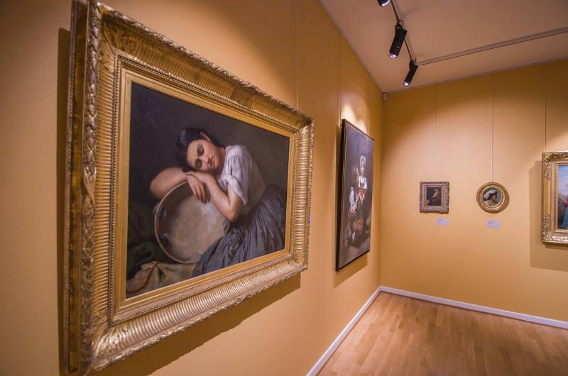 Femme au tambourin - Musée des Beaux-Arts Mulhouse Alsace