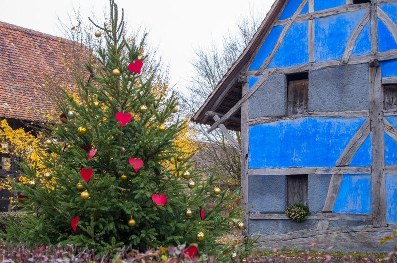 Ecomusée d'Alsace à Noël