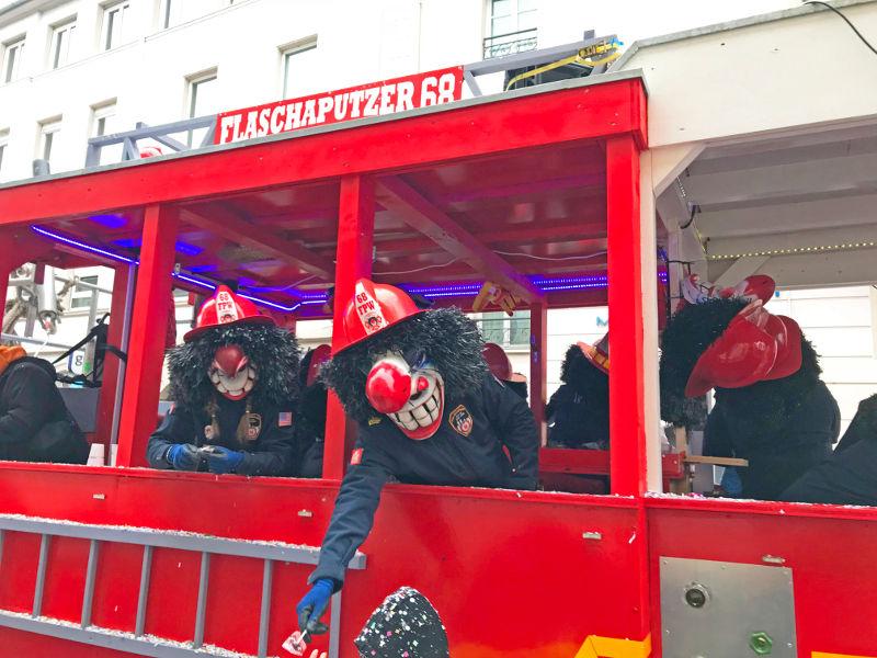 Waggis au Carnaval de Mulhouse