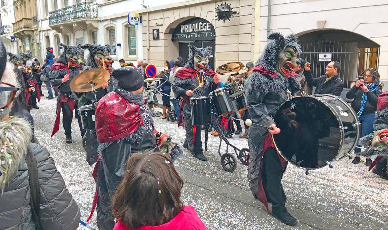 Gugga musik au Carnaval de Mulhouse