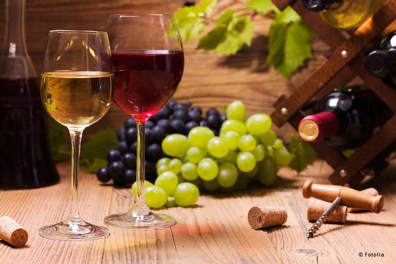 Vin rouge, vin blanc, vin d'Alsace