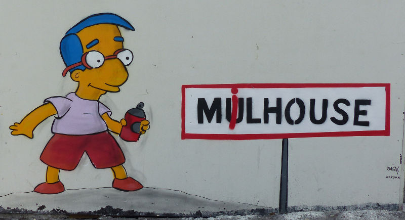 Street-art - Milhouse par OakOak - Mulhouse Alsace | #mulhousexperience