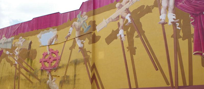 Mur peint Mulhouse Alsace | #mulhousexperience