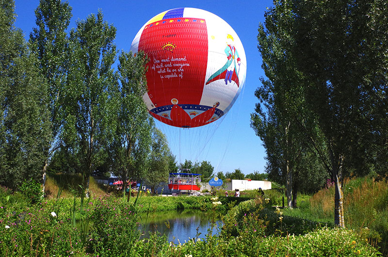 Ballon captif | Parc du Petit Prince | Mulhouse Alsace