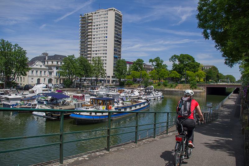 Coup de coeur Vélo le long du canal | mulhousexperience | Mulhouse Alsace