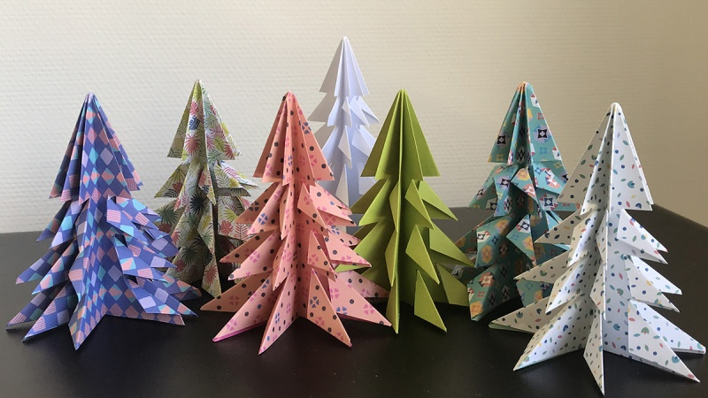 Fabriquer son sapin en origami | mulhousexperience | Mulhouse Alsace